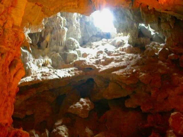 ティエンクン洞窟内部