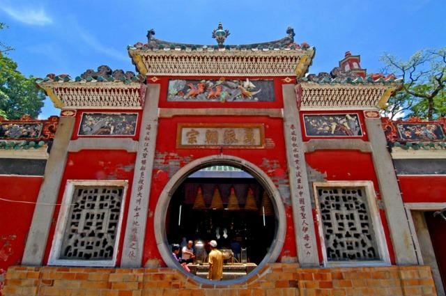マカオの由来となる寺院