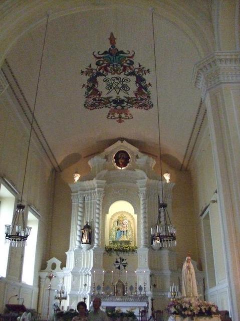 聖ドミンゴ教会の内部