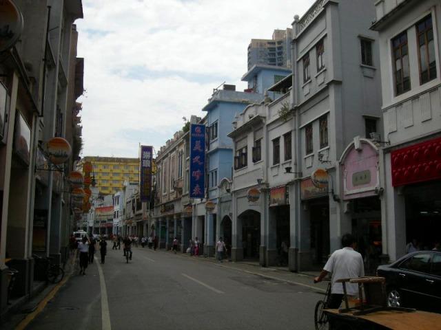 広州の繁華街