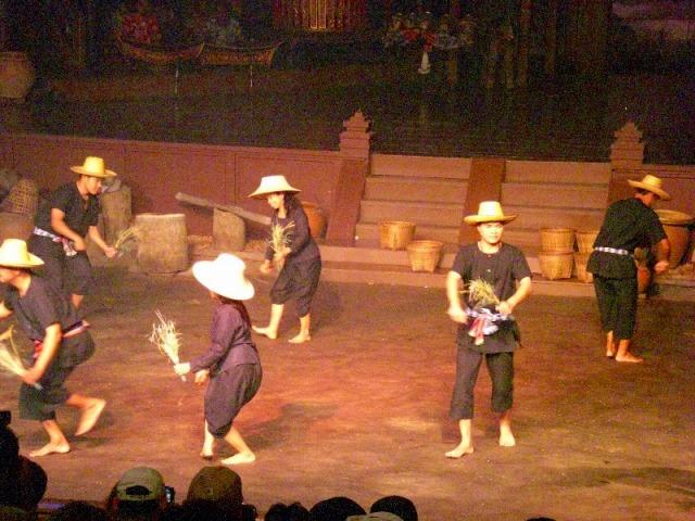 タイ北部の踊り