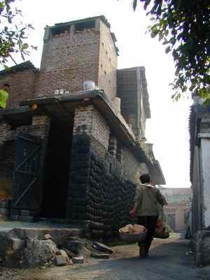 バッチャン村の様子