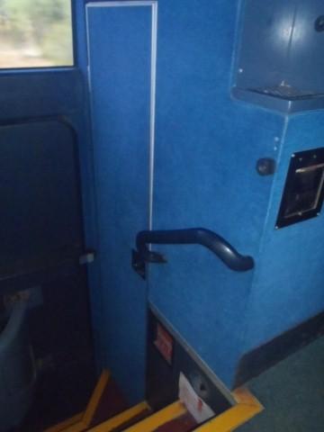 バス内にはトイレもあり安心