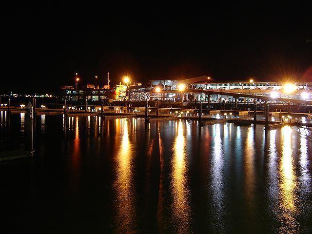 ペナンブリッジの夜景