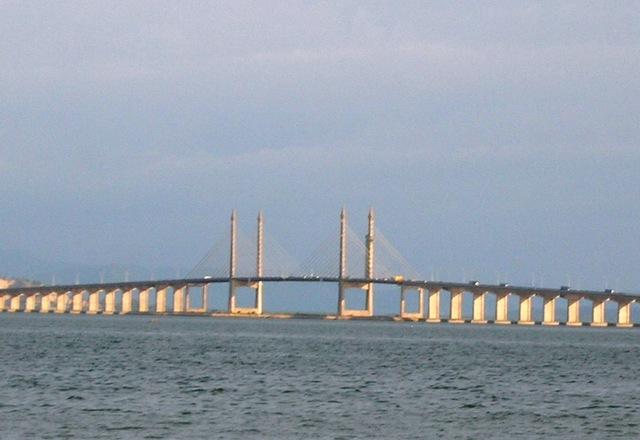 全長約13.5kmのペナンブリッジ