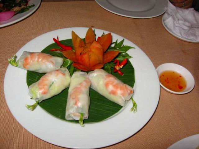 美味しそうなベトナム料理