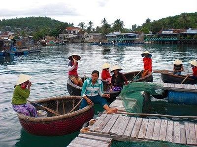 魚の養殖場