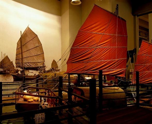 歴史博物館内部