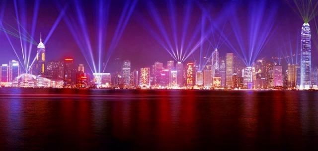 素晴らしい夜景、100万ドル♪