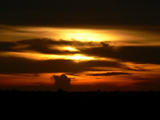 プレ・ループからの夕日(天候により見えない場合があります)