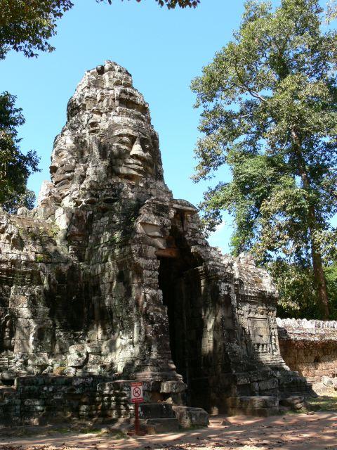 バンテアイ・クディはジャヤヴァルマン七世によって創建された