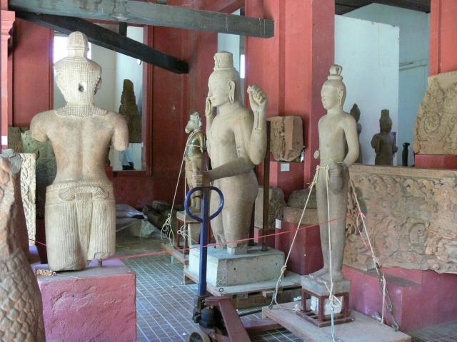 国立博物館の内部