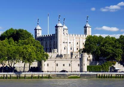 ロンドンの歴史を誇るロンドン塔
