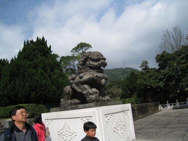 故宮博物院にいる狛犬