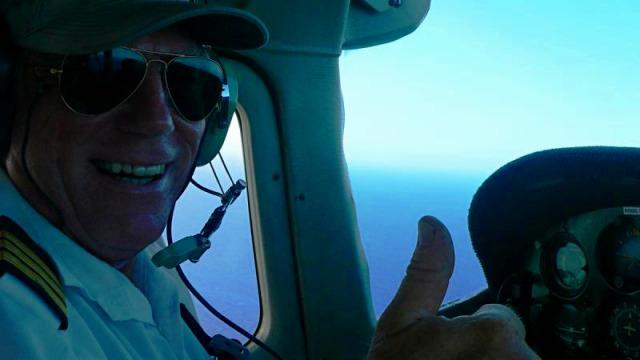 ベテランパイロットがご案内します