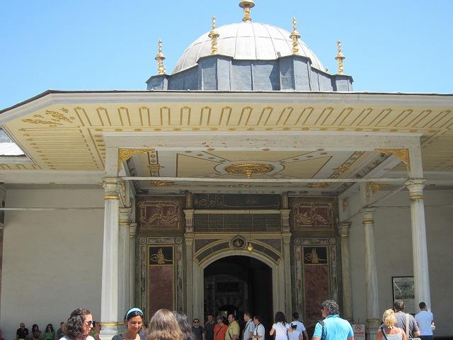 トプカプ宮殿「幸福の門」