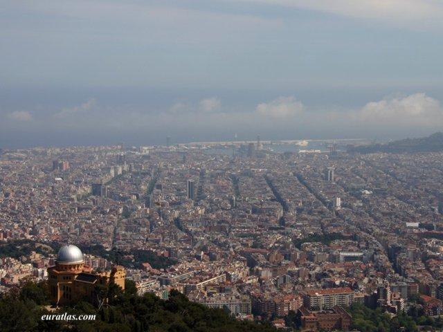 バロセロナの街並み
