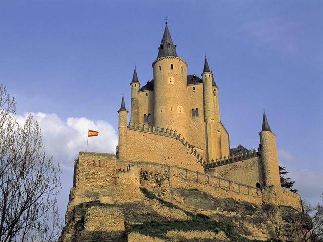 「白雪姫」のお城のモデルとして名高いアルカーサル