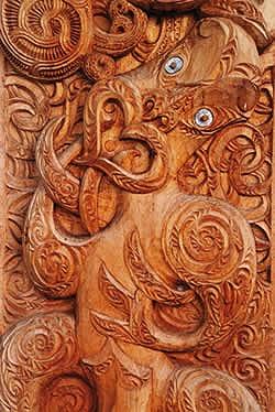マオリの彫刻
