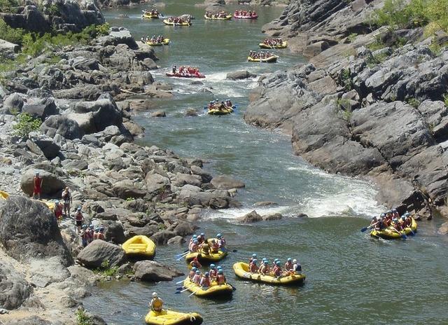 穏やかなバロン川