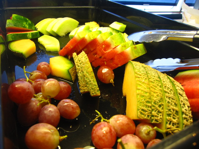 ダイブ後は果物