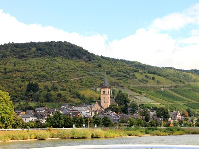 中世の趣きが残る小さな町バッハラッハと聖ペトロ教会