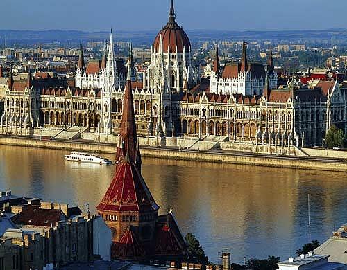 ブダペストの街