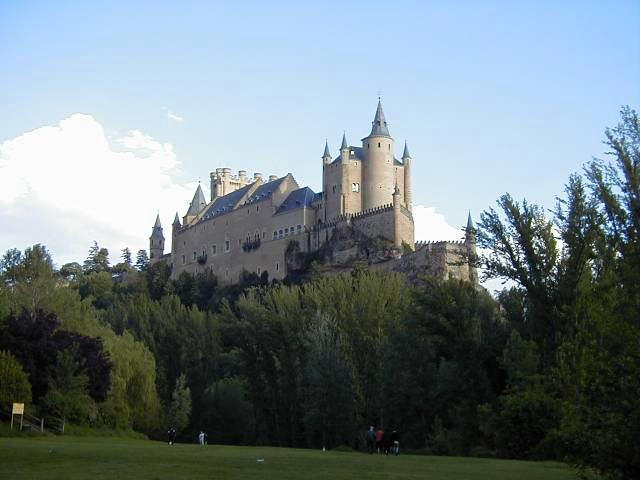 白雪姫のお城のモデルになったことで知られる「アルカサル」