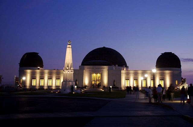 グリフィス天文台外観