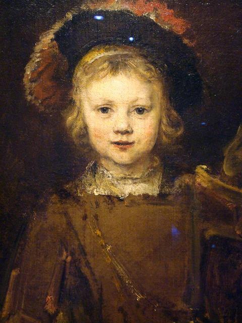 レンブラントの名作 息子ティトゥスの肖像