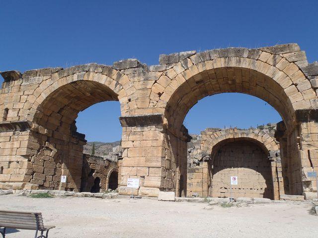 ヒエラポリス遺跡の北大浴場