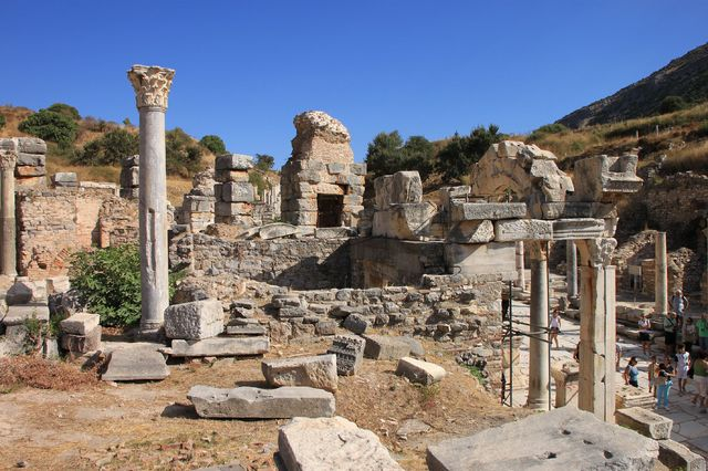 トルコの重要な観光地の1つ