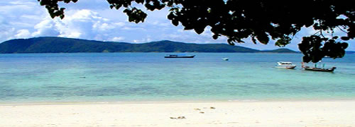 コーラル島ビーチ
