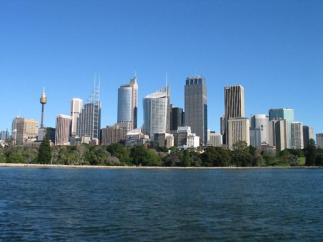 シドニー市街の様子
