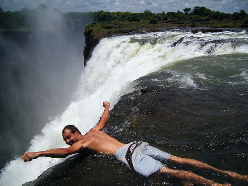 ヴィクトリア瀑布