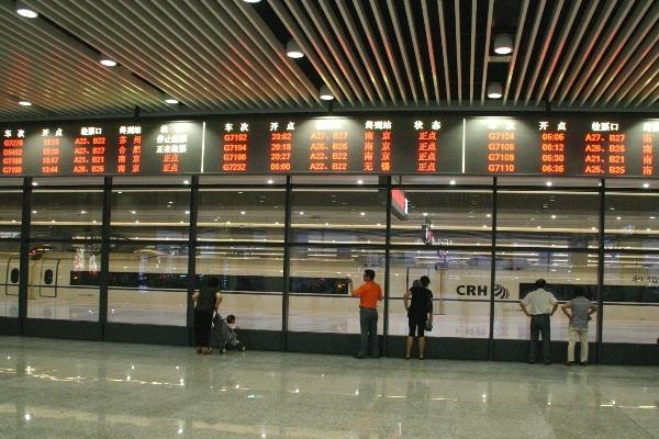 2010年に完成した虹橋駅
