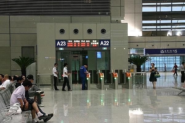 虹橋駅 待合室