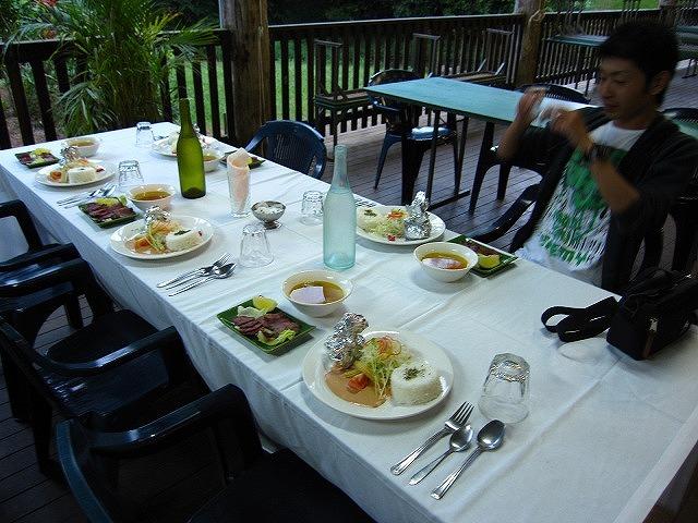 ディナーはマンガリーフォールスで