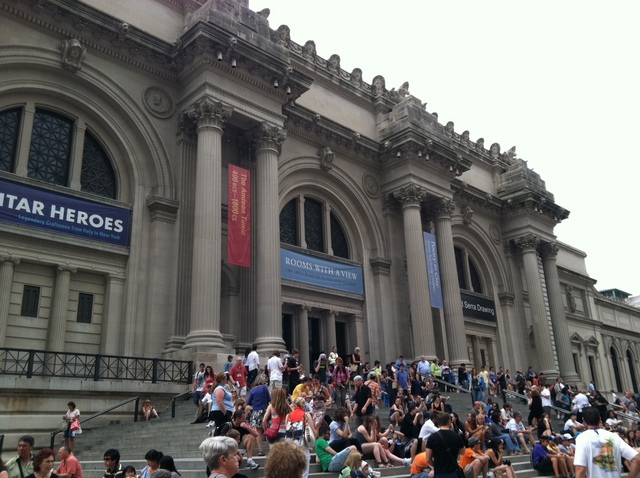 世界三大美術館のひとつメトロポリタン美術館