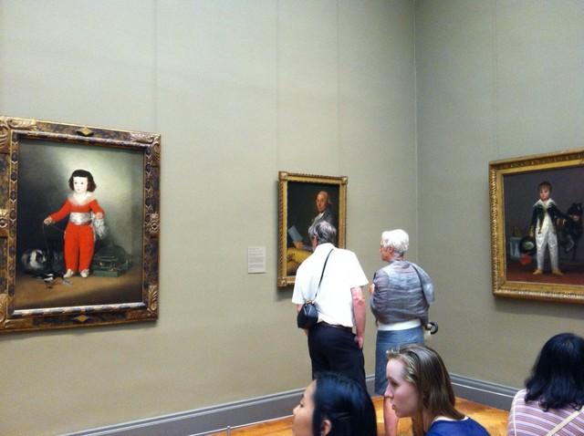 ゴヤ「アルタミラ伯爵の長男の肖像画」