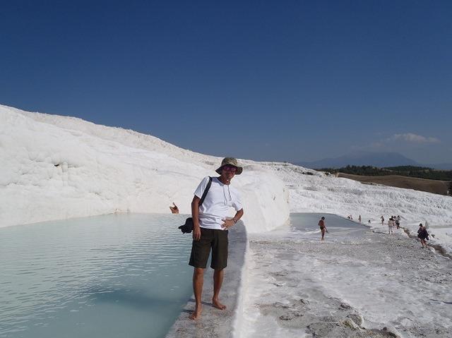パムッカレ 石灰のプール