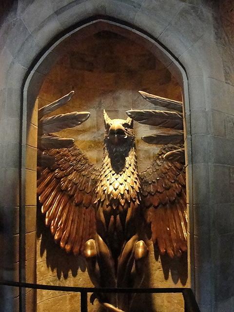 ホグワーツ城の内部