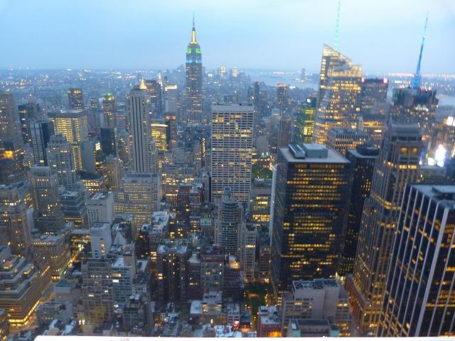 ニューヨーク3大夜景のひとつ