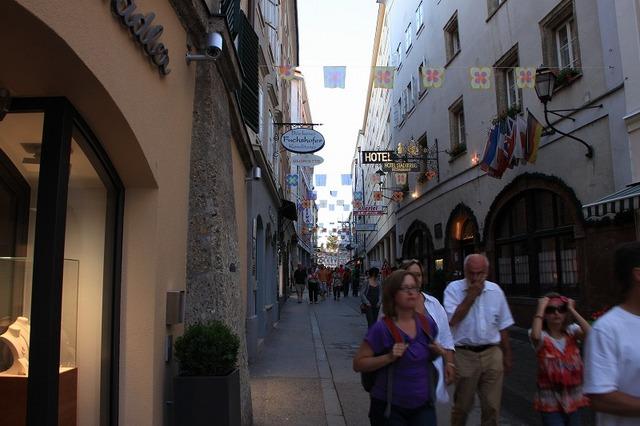 旧市街の街中