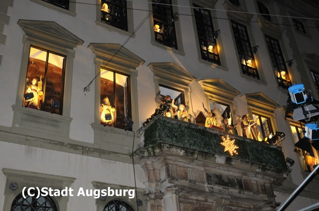 アウグスブルクのクリスマスマーケット