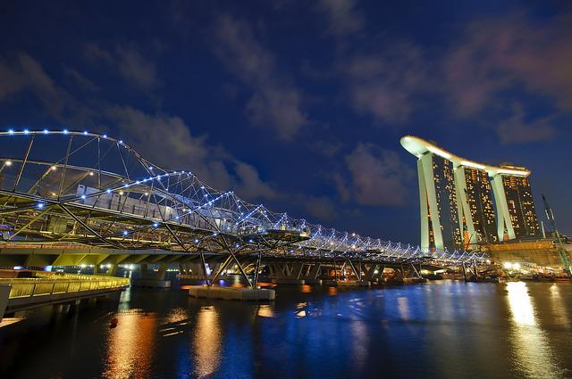 すばらしい夜景が楽しめます(写真提供:シンガポール政府観光局)