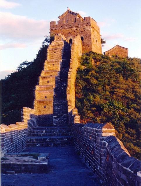 金山嶺長城でしか見られない障壁