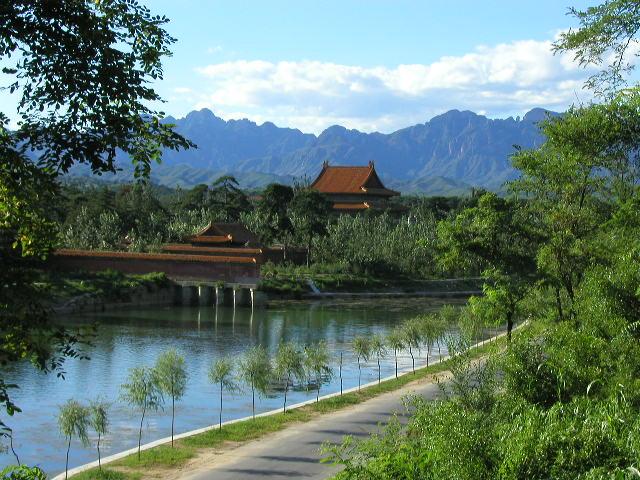 理想的な風水によって建造された清西陵