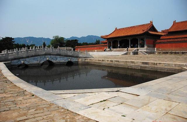 風水に則って建造された清東陵