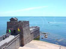 万里の長城は海から始まります